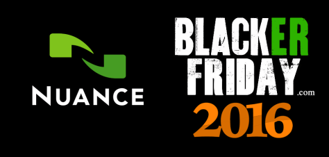 Nuance Black Friday 2016