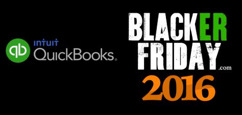 QuickBooks Black Friday 2016