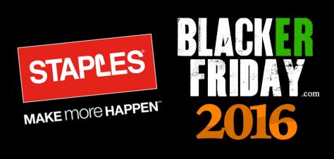 Staples Black Friday 2016