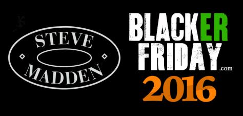 Steve Madden Black Friday 2016