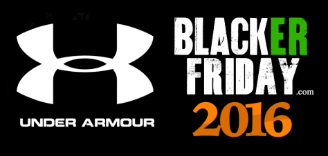 Under Armour Black Friday 2016