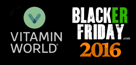 Vitamin World Black Friday 2016