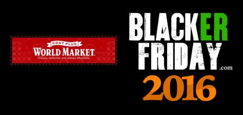 World Market Black Friday 2016
