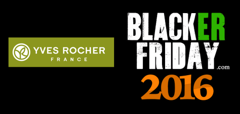 Yves Rocher Black Friday 2016