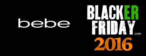 Bebe Black Friday 2016