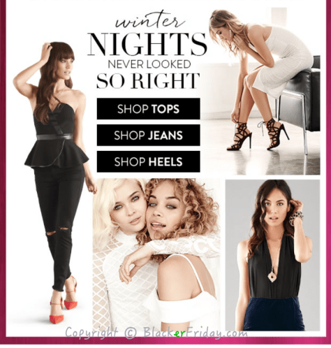 Charlotte Russe Cyber Monday Ad Scan - Page 3