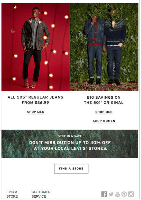 Levis Cyber Monday Ad Scan - Page 3