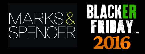 Marks and Spencer Black Friday 2016