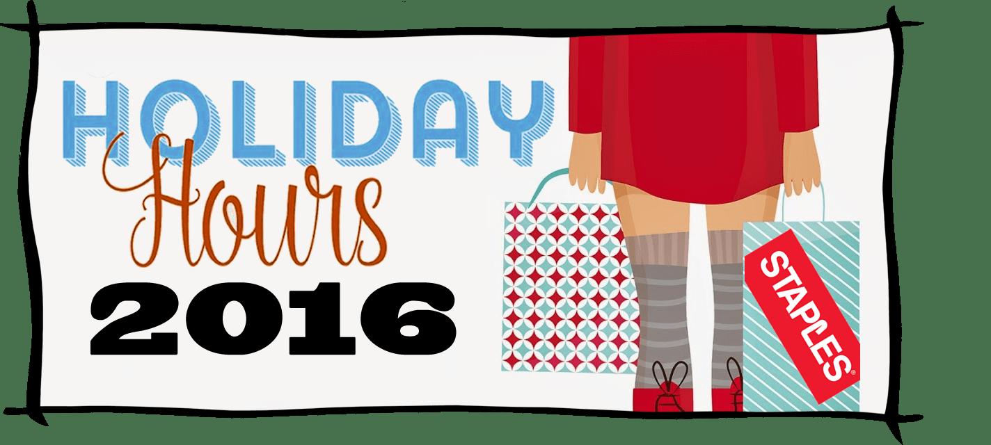 Staples Black Friday Store Hours 2016