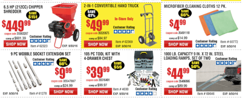 Harbor Freight Tools Labor Day 2016 Sale - Page 4