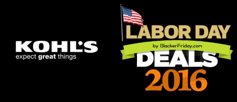 Kohls Labor Day 2016