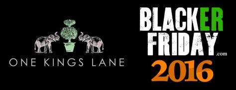 One Kings Lane Black Friday 2016