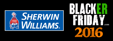 Sherwin Williams Black Friday 2016