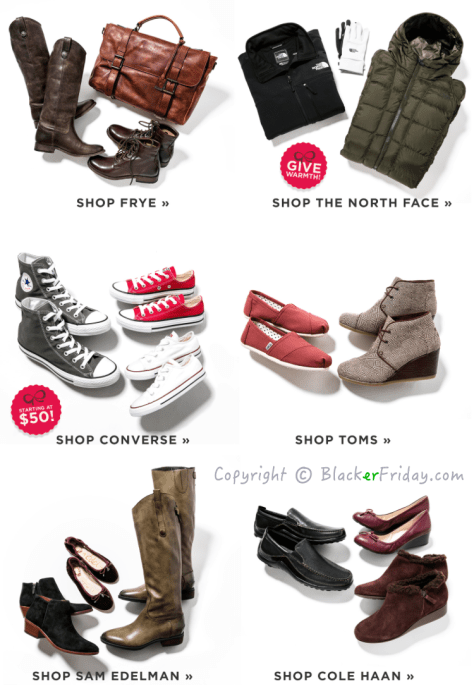 Zappos Black Friday Ad Scan - Page 2