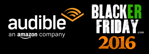 Audible Black Friday 2016