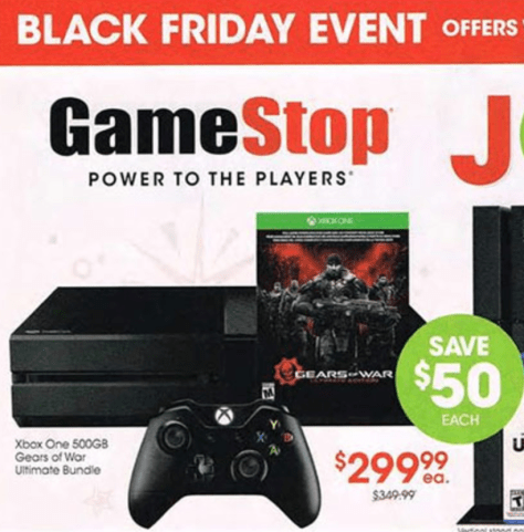 Gamestop Xbox One Black Friday - Page 1