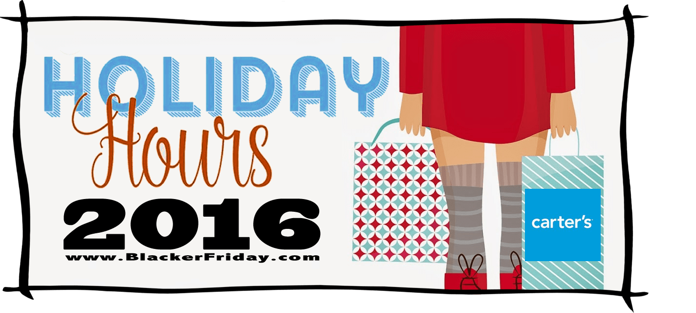Carters Black Friday Store Hours 2016