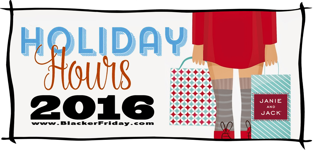 Janie and Jack Black Friday Store Hours 2016