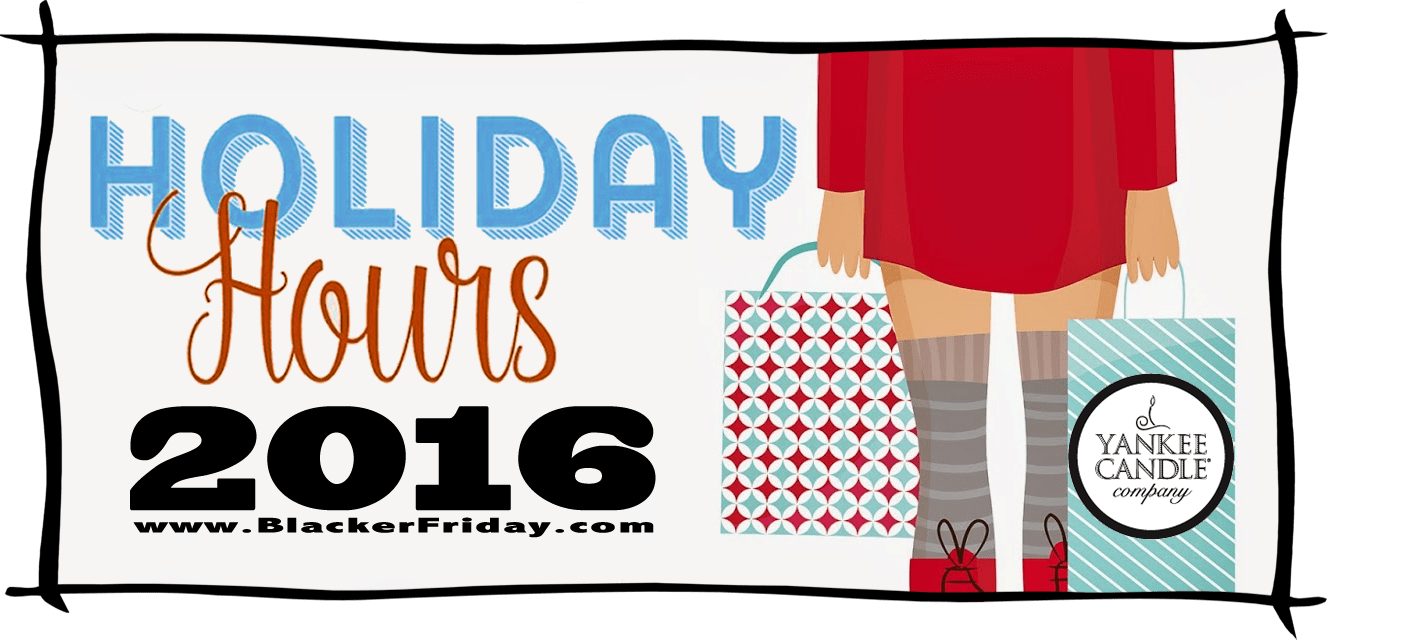 Yankee Candle Black Friday Store Hours 2016