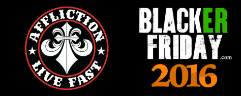 Affliction Black Friday 2016