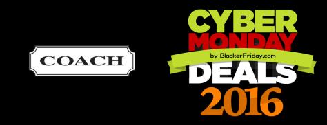 Coach Cyber Monday 2016