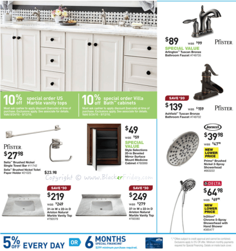 Lowes Labor Day 2016 Sale Flyer - Page 18