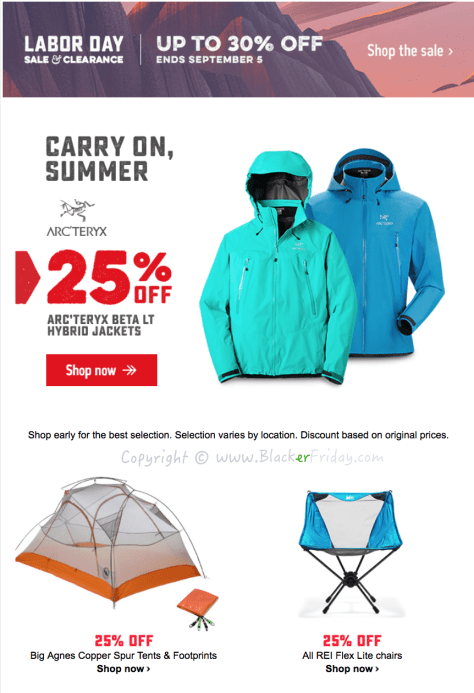 REI Labor Day 2016 Sale - Page 1