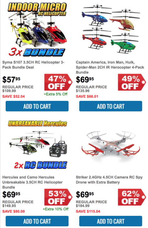 HobbyTron Black Friday Sale Flyer - Page 3
