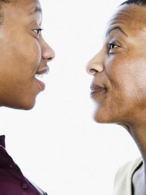 Black Mother-Daughter