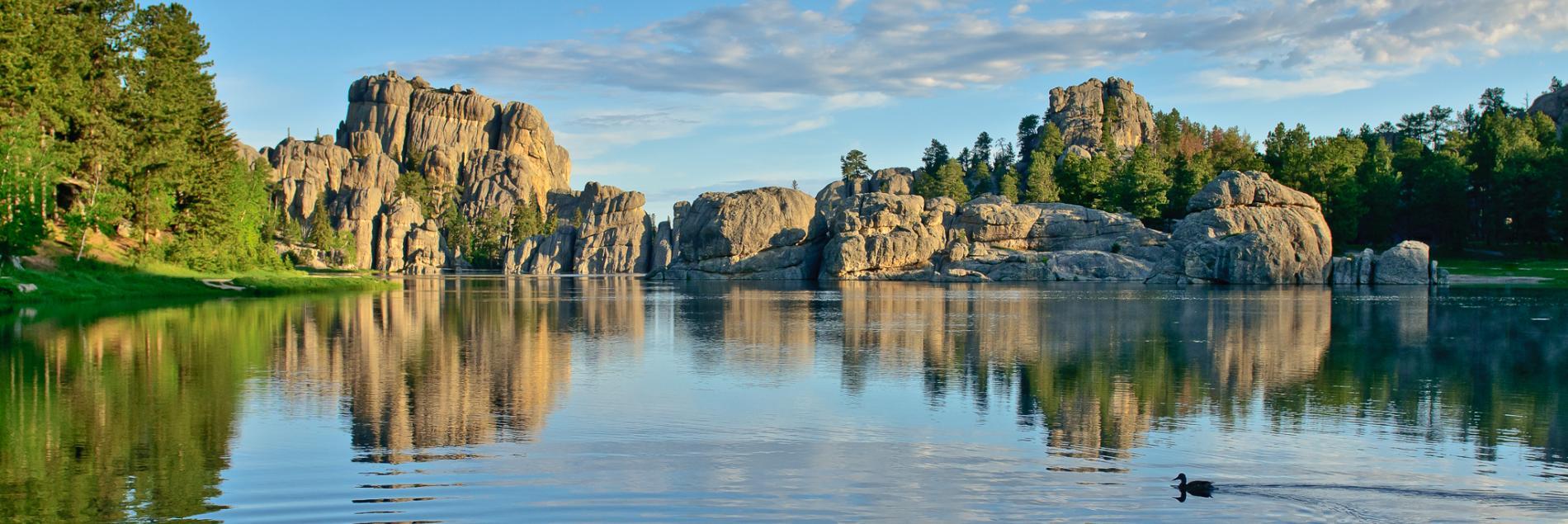 Wallpaper Sioux Falls Sylvan Lake Black Hills Amp Badlands South Dakota