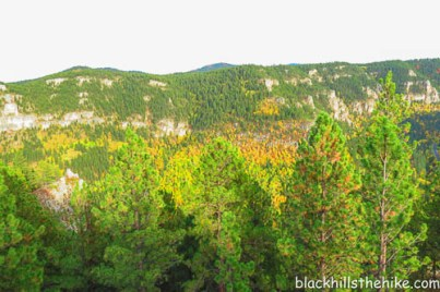 Spearfish Canyon, the view from Buzzard's Roost