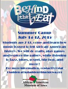 Behind the Beat Summer Camp
