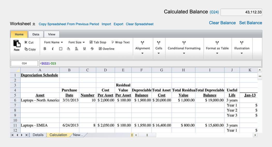 Account Reconciliation Software BlackLine - bank reconciliation sheet
