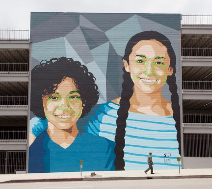 <i>Facial Recognition Art Mural by <a href='https://www.flickr.com/photos/yowhathappenedtopeace/'>Yo What Happened To Peace</a> on <a href='https://www.flickr.com/photos/yowhathappenedtopeace/'>Flickr</a></i>