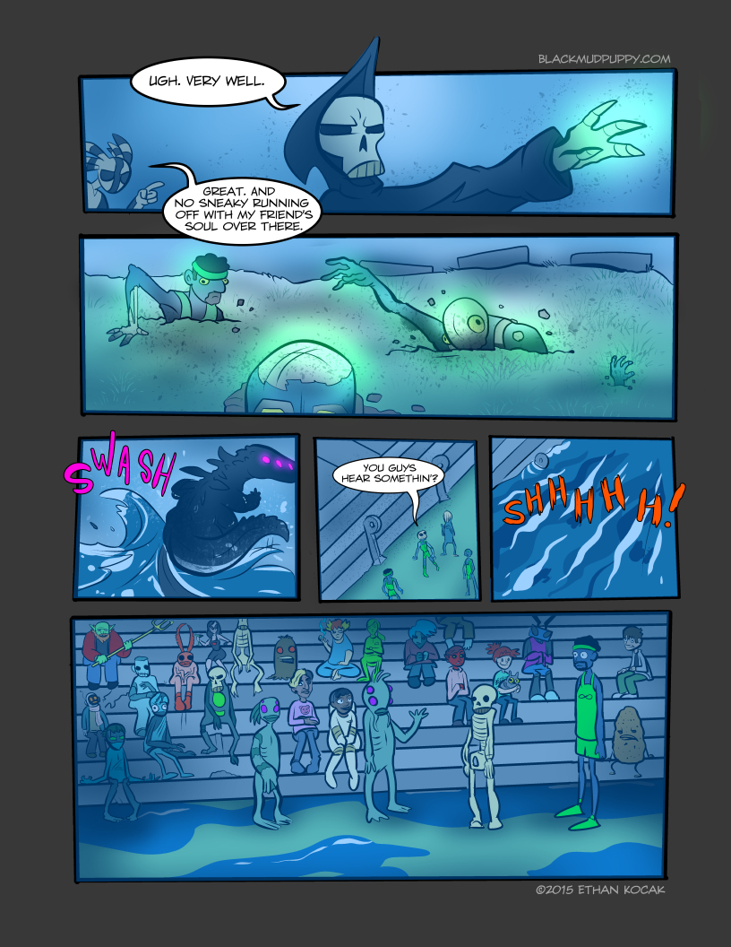 All Bleeding Stops Eventually Page 10