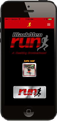 Black Men Run App