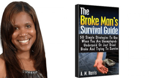 Broke Man's Survival Guide by AM Harris