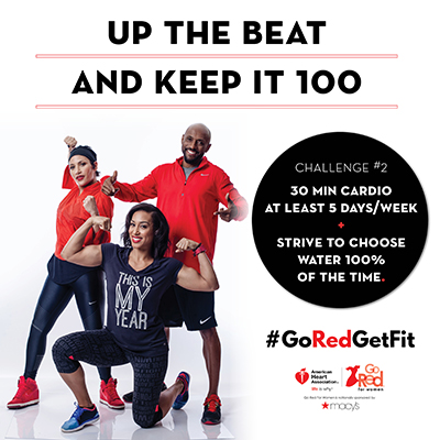 American Heart Association Go Red Get Fit