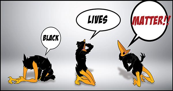 Jim Crow Comic strip about Black Lives Matter
