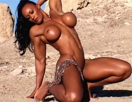 muscle women pussy open