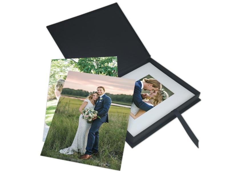 Folio Image Box, Presentation for Photo Prints Black River Imaging