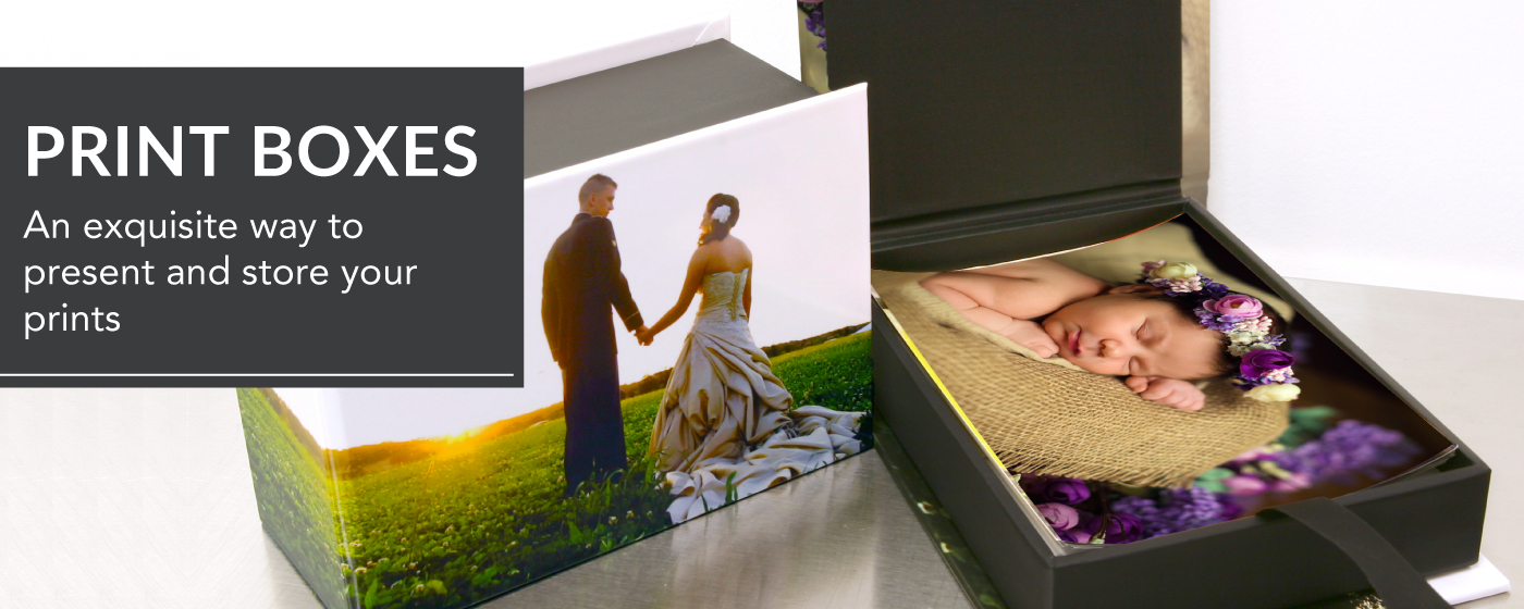 Custom Boxes for Photographic Prints Black River Imaging
