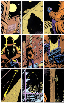 Watchmen 9 Panel Grid Alan Moore Dave Gibbons