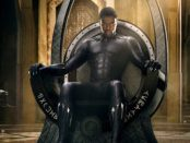 T'Challa on the throne