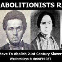 New Abolitionists Radio - Burnings and burials of the Rebel flag w/ artist John Sims