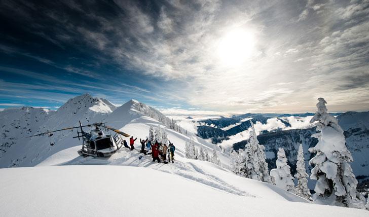 Why Do We Fall Wallpaper Heli Ski The Canadian Rockies Black Tomato