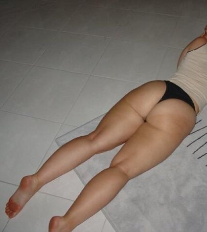 nice ass in thong
