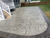 How to Frame a Stamped Concrete Patio | Blackwater Concrete