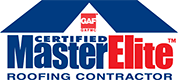 GAF Certified MasterElite Roofing Contractor Logo