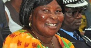 Presidential Candidate of the  Ghana Freedom Party (GFP), Akua Donkor